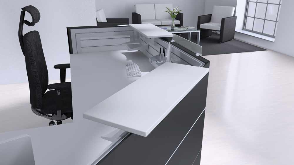Büromöbel Büroausstatter Schreibtisch Bürostuhl in Lübeck | Showroom3
